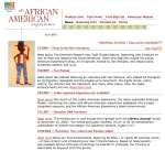 AFRICAN AMERICAN MARKETING SITE DOWNPAGE