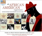 AFRICAN AMERICAN MARKETING SITE HOMEPAGE