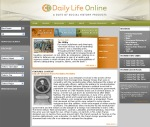 DAILY LIFE ONLINE UMBRELLA HOMEPAGE