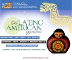 LATINO AMERICAN MARKETING SITE HOMEPAGE