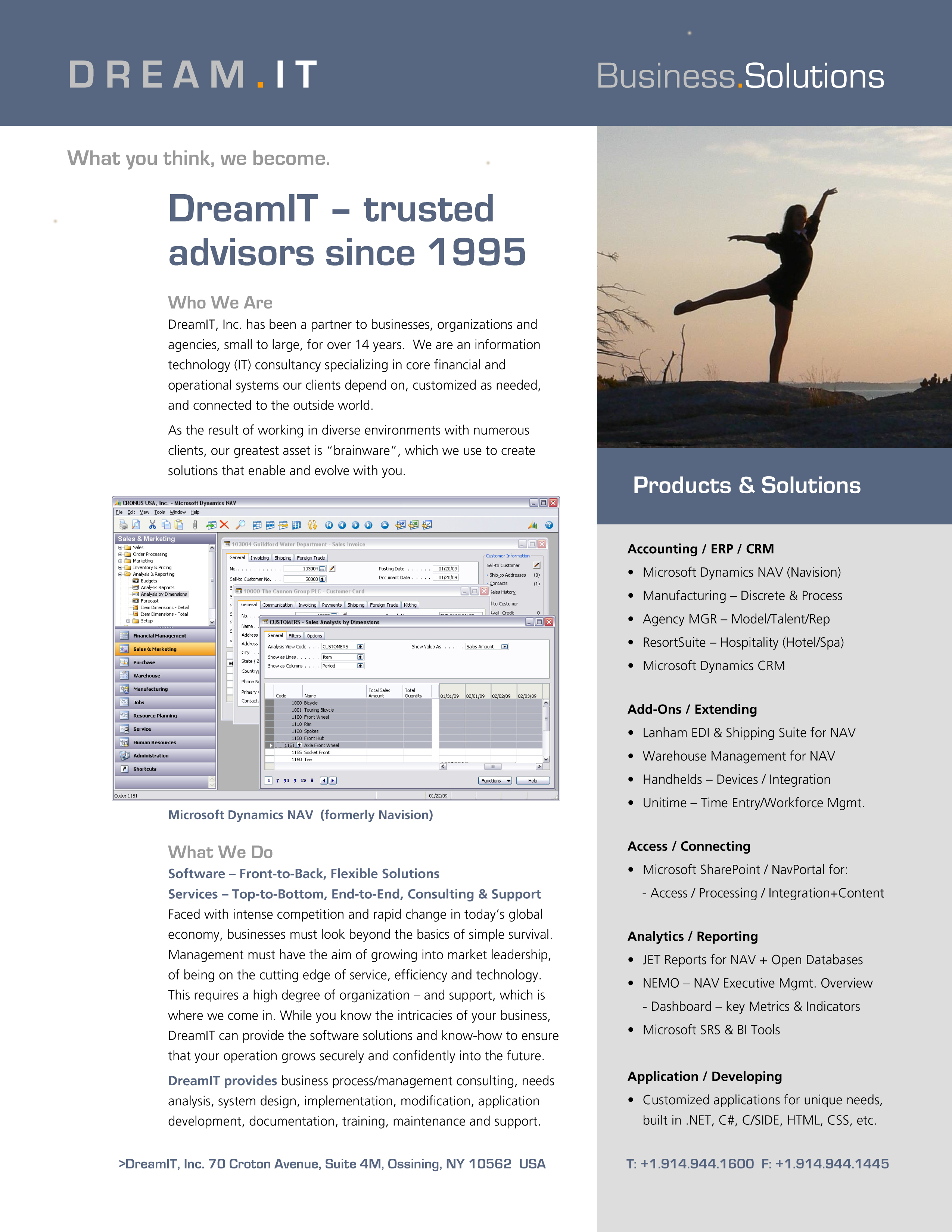 DreamIT Profile Advertisement